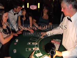 Blackjack with 'Kings & Queens Fun Casinos'