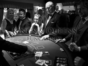 'Fundraising Fun Casino' with Kings & Queens Fun Casinos