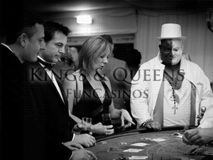 'Themed Fun Casino' with Kings & Queens Fun Casinos